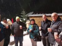 Weltrekord-Adventskranz & Glühwein