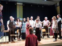 Gewerbeschau-Theaterproben März 2018